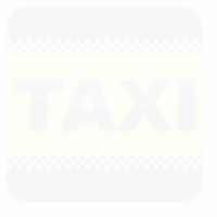 Logo Red Car Taxi